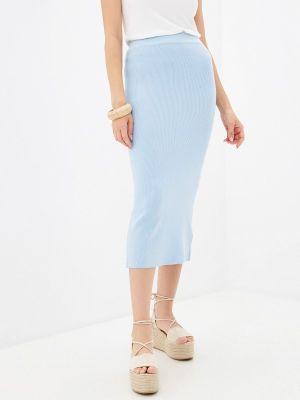Зауженная юбка - голубая Tiffosi