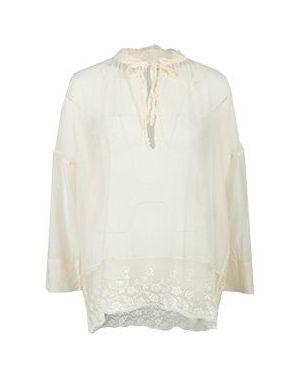 Блузка бежевый Semicouture
