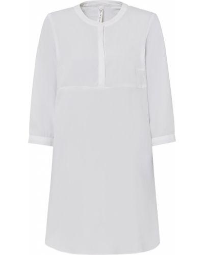 Платье макси длинное - белое Bonprix
