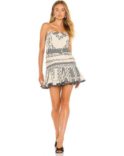 Плиссированное платье - белое Hemant And Nandita