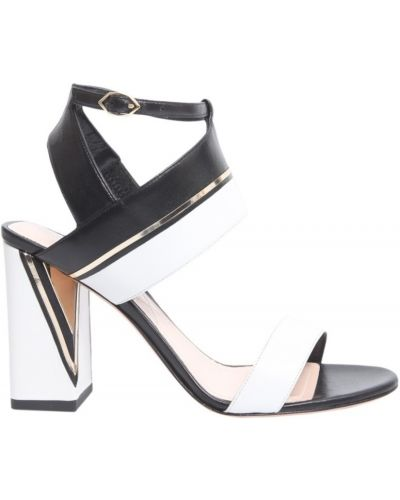 Czarne sandały Nicholas Kirkwood