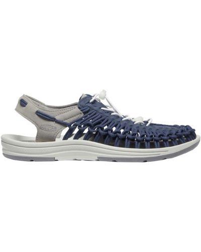 Niebieskie sandały sportowe trekkingowe Keen