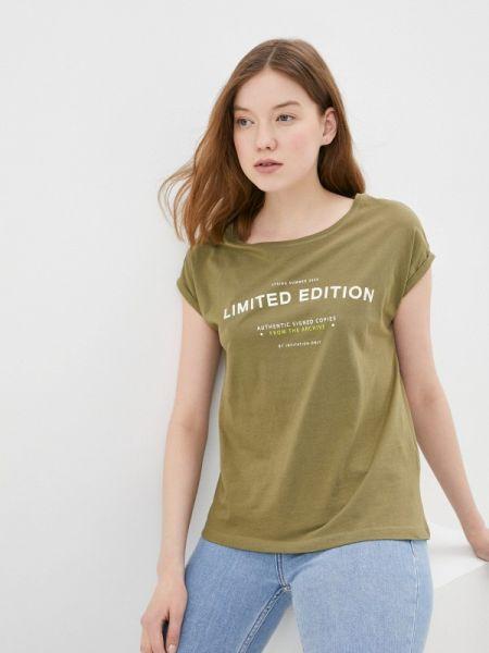 Зеленая футбольная футболка Jacqueline De Yong