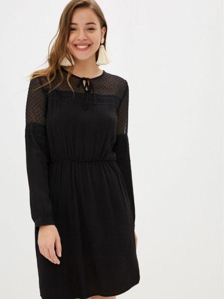 Платье прямое черное Pimkie