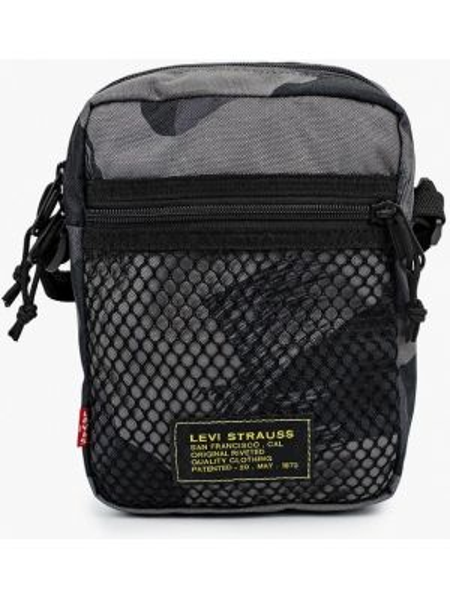 Текстильная сумка через плечо - серая Levi's®