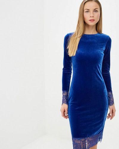 Платье - синее Modis