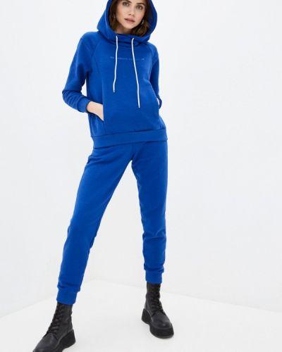 Костюмный синий спортивный костюм Anastasya Barsukova