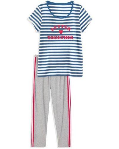 Хлопковая пижама - синяя Blue Motion