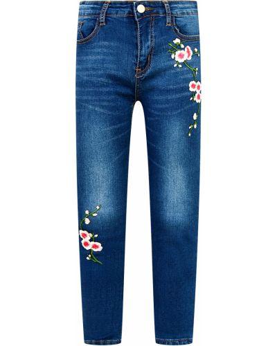 Хлопковые синие джинсы Relish