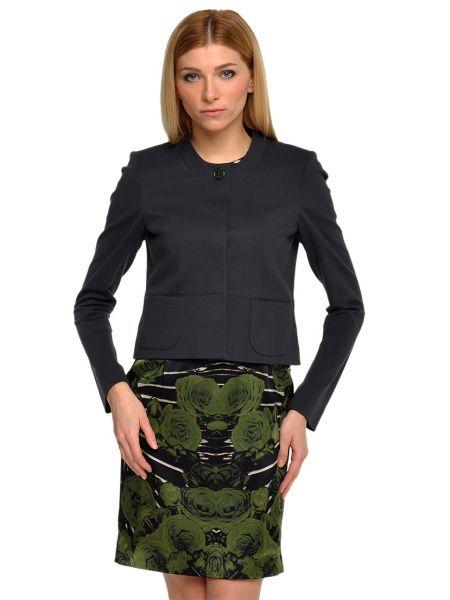 Серый пиджак из вискозы Luisa Cerano
