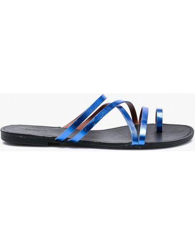 Синие сандалии кожаный Vagabond
