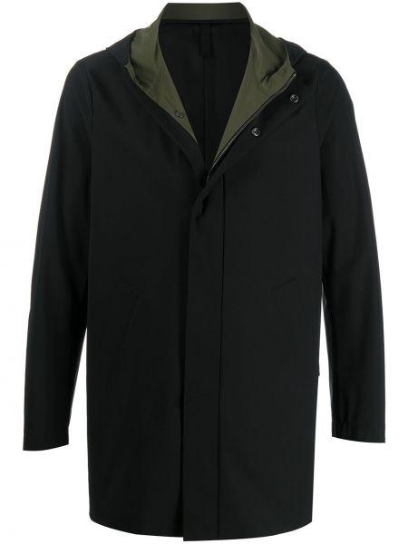 Płaszcz przeciwdeszczowy długo czarny Harris Wharf London