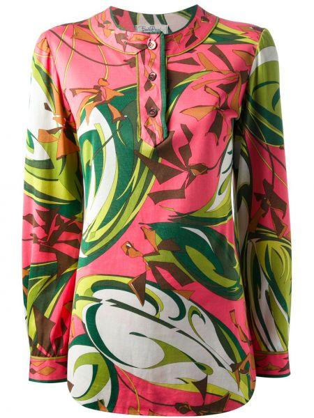 Топ винтажный на пуговицах Emilio Pucci Pre-owned