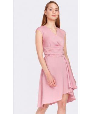 Платье с запахом розовое Cat Orange