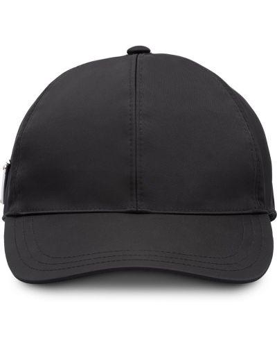 Bawełna baseball bawełna czarny czapka baseballowa Prada