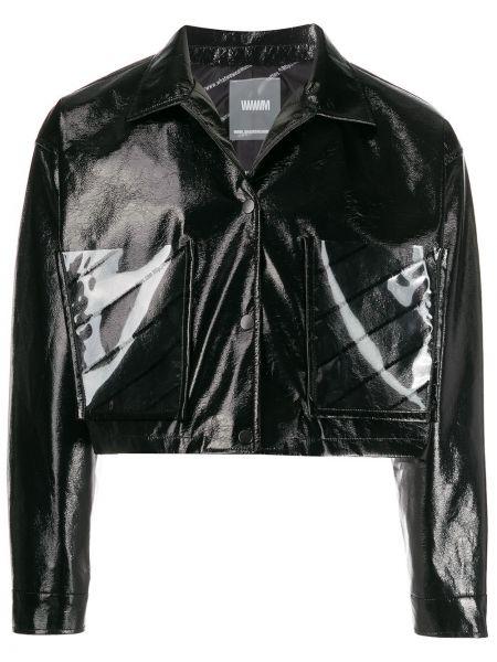 Черная куртка Wwwm