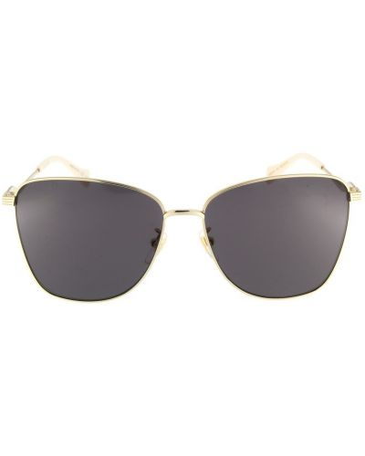 Żółte okulary Gucci