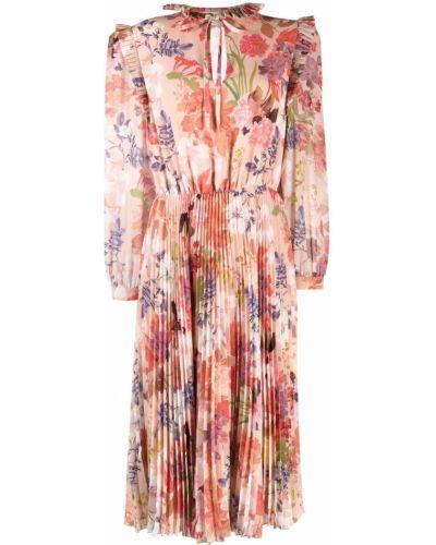 Платье макси с длинными рукавами Etro