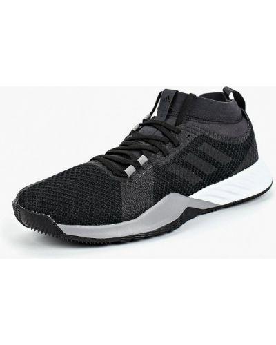 Черные кроссовки низкие Adidas