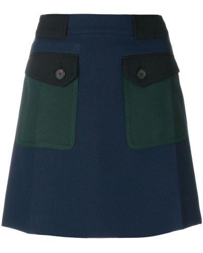 Юбка мини с карманами Prada