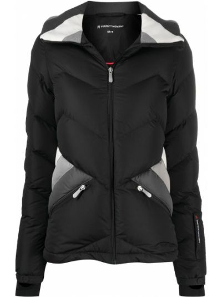 Пуховая куртка - черная Perfect Moment