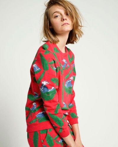 Хлопковый джемпер - красный Zoe Karssen