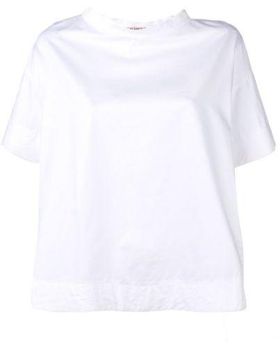 Блузка с коротким рукавом белая Blanca