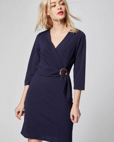 Платье весеннее синее Morgan