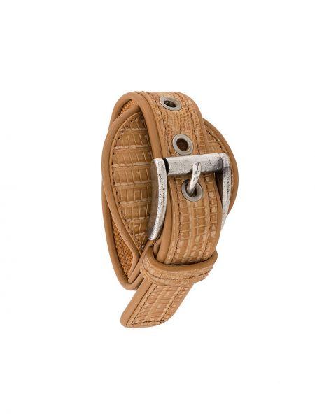 Кожаный браслет с пряжкой Gianfranco Ferre Pre-owned