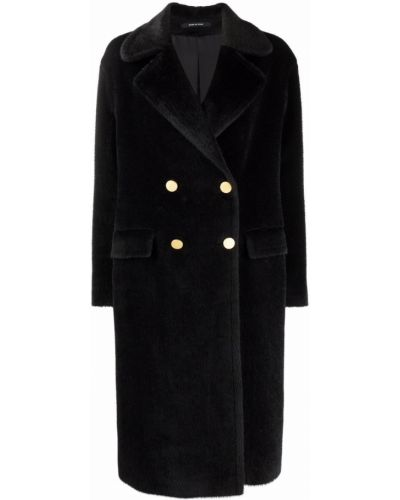 Черное пальто классическое Tagliatore