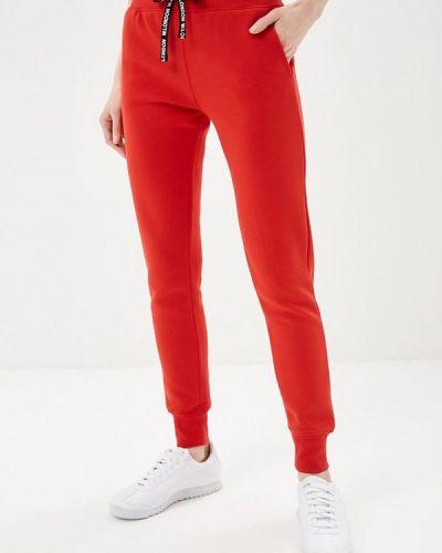 Спортивные брюки красный Jennyfer