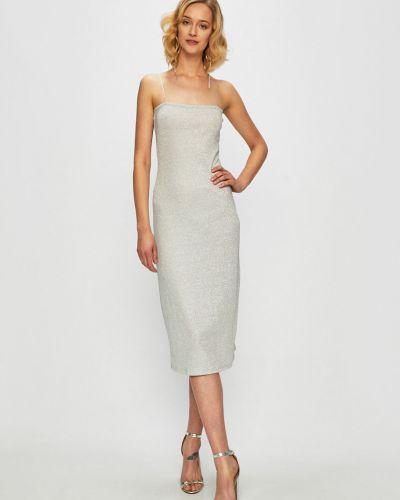 Платье миди облегающее однотонное Glamorous