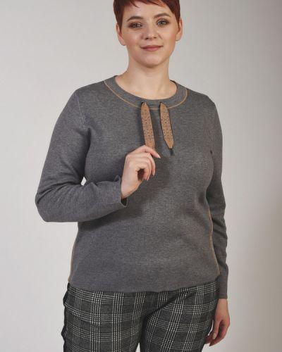 Хлопковый пуловер Lecomte