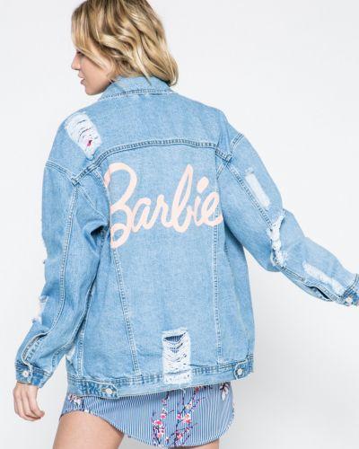Джинсовая куртка на пуговицах с карманами Missguided