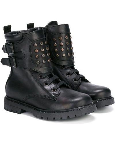 Ботинки черные Diesel Kids