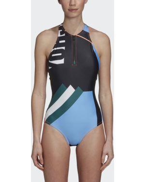 Спортивный купальник с молнией Adidas