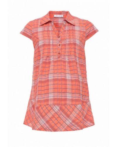 Оранжевая блузка Mammysize