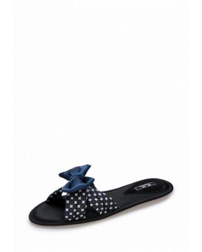 Синие тапочки замшевые Petit Pas