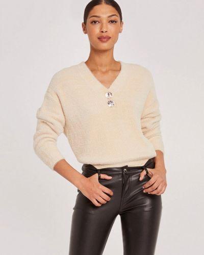 Бежевый пуловер Morgan