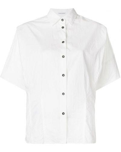 Рубашка белая на пуговицах Tomas Maier