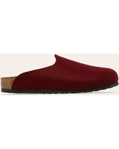 Тапочки красные бордовый Birkenstock