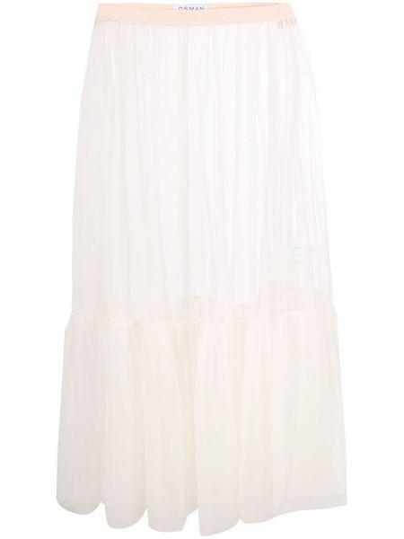 Biała spódnica tiulowa Osman