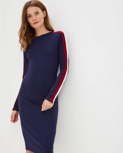 Синее платье с длинными рукавами Brave Soul