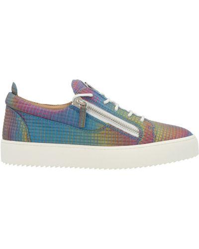 Sneakersy - niebieskie Giuseppe Zanotti