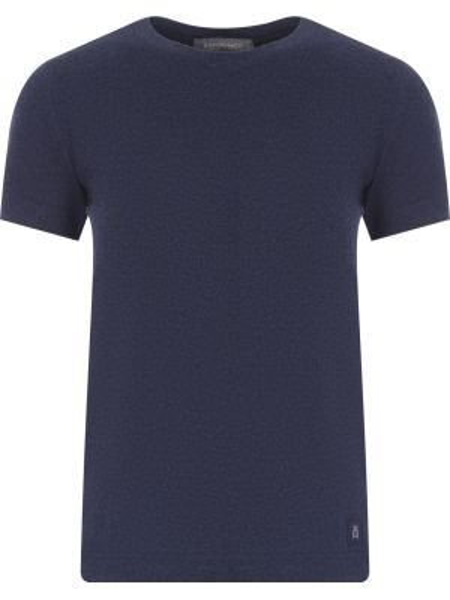 Хлопковая футболка - синяя Capobianco