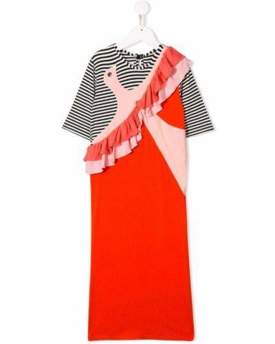 Прямое розовое платье с рукавами на пуговицах Bang Bang Copenhagen