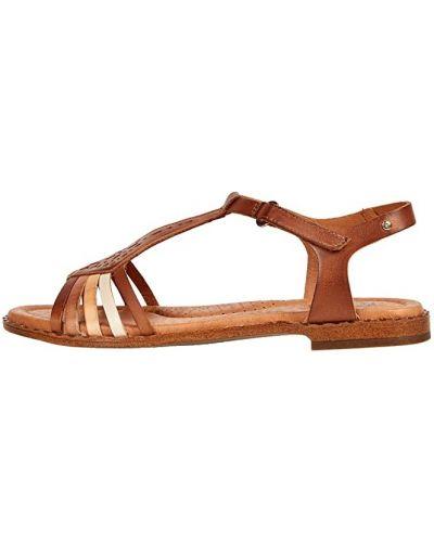 Кожаные сандалии - коричневые Pikolinos