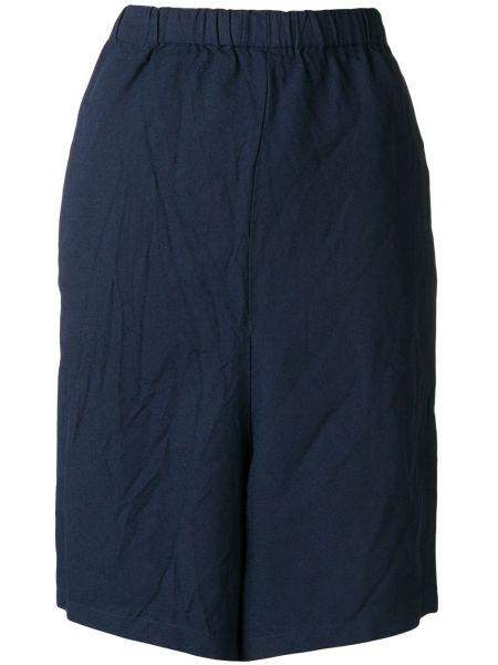 Свободные шорты с поясом свободного кроя Comme Des Garçons Pre-owned