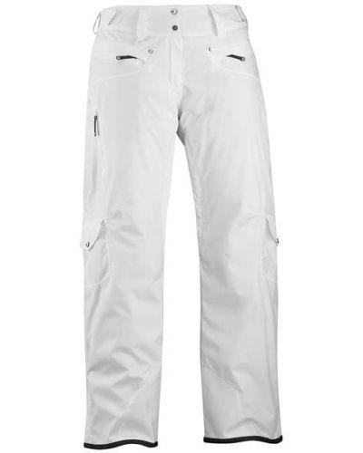 Кожаные белые утепленные брюки Salomon