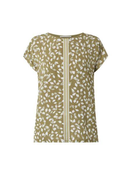 Bluzka z wiskozy - zielona Betty & Co Grey